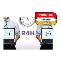 Toshiba On-Site Repair Gold - Extended service agreement - parts and labour - 4 years (from original purchase date of the equipment) - on-site - 8x5 - response time: NBD - for Dynabook Toshiba Portégé X30, Z30; Toshiba Satellite Pro A50, R40