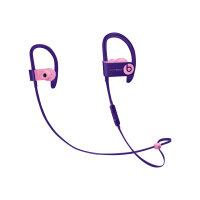Beats Powerbeats3 - Beats Pop Collection - earphones with mic - in-ear - over-the-ear mount - Bluetooth - wireless - noise isolating - pop violet - for 10.5-inch iPad Pro; 9.7-inch iPad; 9.7-inch iPad Pro; iPhone 7, 8, X, XR, XS, XS Max