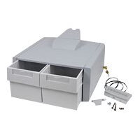 Ergotron StyleView Primary Double Tall Drawer - Mounting component (drawer module) - grey, white - cart mountable