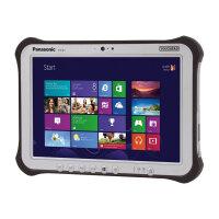 "Panasonic Toughpad FZ-G1 - Tablet - Core i5 7300U / 2.6 GHz - Win 10 Pro 64-bit - 8 GB RAM - 256 GB SSD - 10.1"" IPS touchscreen 1920 x 1200 - HD Graphics 620 - Wi-Fi, Bluetooth - rugged"