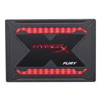 "HyperX FURY RGB Bundle - Solid state drive - 480 GB - internal - 2.5"" - SATA 6Gb/s - black"