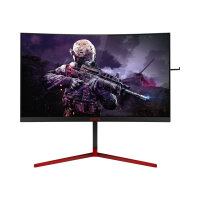 "AOC Gaming AG273QCG - AGON Series - LCD monitor - curved - 27"" - 2560 x 1440 QHD - 400 cd/m² - 1000:1 - 1 ms - HDMI, DisplayPort - speakers - black, red"