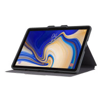 Targus Click-In - Flip cover for tablet - rugged - polyurethane - berry - for Samsung Galaxy Tab S4 (10.5 in)
