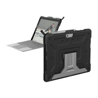 UAG Rugged Case for Microsoft Surface Go - Metropolis Black - Non-Retail Packaging - Back cover for tablet - rugged - aluminium - black - for Microsoft Surface Go