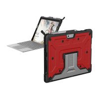 UAG Rugged Case for Microsoft Surface Go - Metropolis Magma - Back cover for tablet - rugged - aluminium - magma - for Microsoft Surface Go