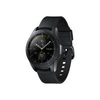"Samsung Galaxy Watch - 42 mm - midnight black - smart watch with band - silicone - display 1.2"" - 4 GB - Wi-Fi, NFC, Bluetooth - 49 g"