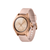 """Samsung Galaxy Watch - 42 mm - rose gold - smart watch with band - silicone - display 1.2"""" - 4 GB - Wi-Fi, NFC, Bluetooth - 49 g"""