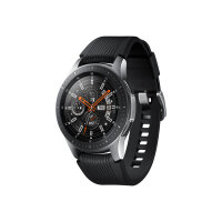 "Samsung Galaxy Watch - 46 mm - silver - smart watch with band - silicone - display 1.3"" - 4 GB - Wi-Fi, NFC, Bluetooth - 63 g"