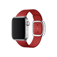 Apple 40mm Modern Buckle - (PRODUCT) RED Special Edition - watch strap - Large - ruby - for Watch (38 mm, 40 mm)