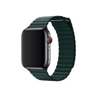 Apple 44mm Leather Loop - Watch strap - Medium - forest green - for Watch (42 mm, 44 mm)