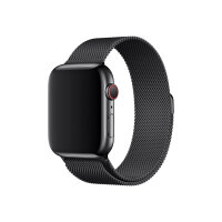 Apple 44mm Milanese Loop - Watch strap - 150-200 mm - space black - for Watch (42 mm, 44 mm)