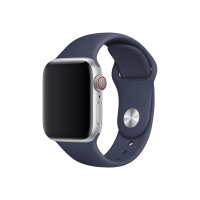Apple 40mm Sport Band - Watch strap - 130-200 mm - midnight blue - for Watch (38 mm, 40 mm)