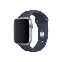 Apple 44mm Sport Band - Watch strap - 140-210 mm - midnight blue - for Watch (42 mm, 44 mm)