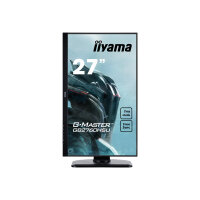 "iiyama G-MASTER Red Eagle GB2760HSU-B1 - LED monitor - 27"" - 1920 x 1080 Full HD (1080p) - TN - 400 cd/m² - 1000:1 - 1 ms - HDMI, DisplayPort - speakers - matte black"