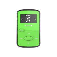 SanDisk Clip Jam - Digital player - 8 GB - green