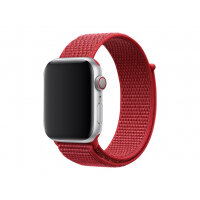Apple 44mm Sport Loop - Watch strap - Regular (fits wrists 145 -220 mm) - product (RED) - demo - for Watch (42 mm, 44 mm)