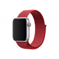 Apple 40mm Sport Loop - Watch strap - Regular - product (RED) - demo - for Watch (38 mm, 40 mm)