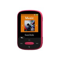 SanDisk Clip Sport - Digital player - 8 GB - pink