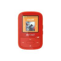 SanDisk Clip Sport Plus - Digital player - 16 GB - red
