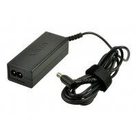 2-Power - Power adapter - AC 110-240 V - 40 Watt - for Sony VAIO E Series SVE11136; VAIO T Series SVT11129, SVT13136; VAIO W Series VPC-W119