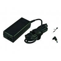 2-Power - Power adapter - AC 110-240 V - 65 Watt - for HP 3005pr USB 3.0 Port Replicator; 215 G1, 24X G1, 24X G2, 25X G1, 25X G2, 3005, 31XX