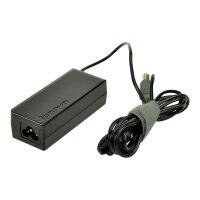 2-Power - Power adapter - AC 110-240 V - 65 Watt - for Lenovo Edge 15; ThinkPad L520; L530; T420; T430; T530; ThinkPad Twist S230