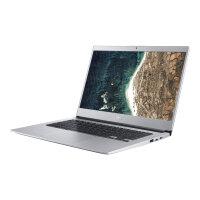 "Acer Chromebook 514 CB514-1H-P09A - Pentium N4200 / 1.1 GHz - Chrome OS - 4 GB RAM - 32 GB eMMC - 14"" TN 1366 x 768 (HD) - HD Graphics 505 - Wi-Fi, Bluetooth - pure silver - kbd: UK"