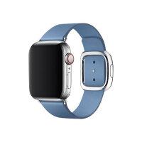 Apple 40mm Modern Buckle - Watch strap - Medium - cornflower - demo - for Watch (38 mm, 40 mm)