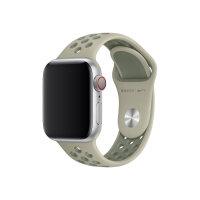 Apple 40mm Nike Sport Band - Watch strap - 130-200 mm - spruce fog/vintage lichen - demo - for Watch (38 mm, 40 mm)