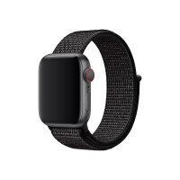 Apple 40mm Nike Sport Loop - Watch strap - Regular - black - for Watch (38 mm, 40 mm)