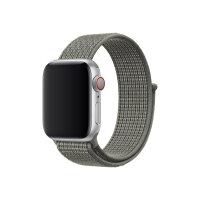 Apple 40mm Nike Sport Loop - Watch strap - Regular - spruce fog - demo - for Watch (38 mm, 40 mm)