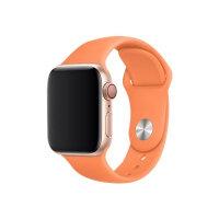 Apple 40mm Sport Band - Watch strap - 130-200 mm - papaya - demo - for Watch (38 mm, 40 mm)