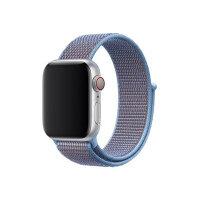 Apple 40mm Sport Loop - Watch strap - Regular - cerulean - demo - for Watch (38 mm, 40 mm)