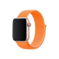 Apple 40mm Sport Loop - Watch strap - Regular - papaya - demo - for Watch (38 mm, 40 mm)