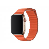 Apple 44mm Leather Loop - Watch strap - Large - sunset - for Watch (42 mm, 44 mm)