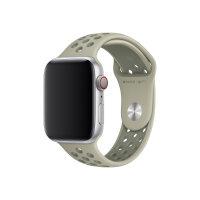 Apple 44mm Nike Sport Band - Watch strap - 140-210 mm - spruce fog/vintage lichen - demo - for Watch (42 mm, 44 mm)
