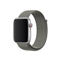 Apple 44mm Nike Sport Loop - Watch strap - Regular (fits wrists 145 -220 mm) - spruce fog - demo - for Watch (42 mm, 44 mm)