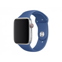 Apple 44mm Sport Band - Watch strap - 140-210 mm - delft blue - for Watch (42 mm, 44 mm)