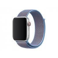 Apple 44mm Sport Loop - Watch strap - Regular (fits wrists 145 -220 mm) - cerulean - for Watch (42 mm, 44 mm)