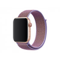 Apple 44mm Sport Loop - Watch strap - Regular (fits wrists 145 -220 mm) - lilac - for Watch (42 mm, 44 mm)