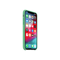 Apple Smart - Back cover for mobile phone - silicone - spearmint - for iPhone XS