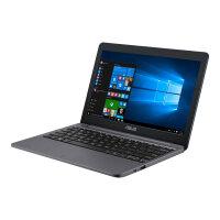 "ASUS VivoBook E12 E203MA FD017TS - Celeron N4000 / 1.1 GHz - Windows 10 in S mode 64-bit - 4 GB RAM - 64 GB eMMC - 11.6"" 1366 x 768 (HD) - UHD Graphics 600 - 802.11ac, Bluetooth - star grey"
