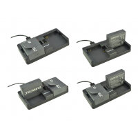 Duracell - Battery charger adapter - 2 output connectors