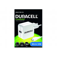 Duracell DMAC10W - Power adapter (USB) - white