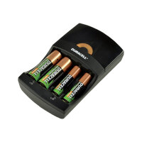 Duracell Hi-Speed Charger - 0.75 hr battery charger - (for 2xAA/AAA) 2 x AA type - 1300 mAh - United Kingdom
