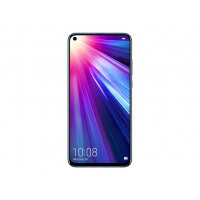 "Honor View 20 - Smartphone - dual-SIM - 4G LTE - 128 GB - GSM - 6.4"" - 2130 x 1080 pixels (398 ppi) - LTPS TFT - RAM 6 GB (25 MP front camera) - 2x rear cameras - Android - sapphire blue"