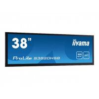 "iiyama ProLite S3820HSB-B1 - 38"" Class LED display - digital signage - 1080i 1920 x 540 - matte black"