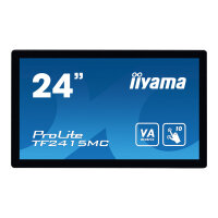 "iiyama ProLite TF2415MC-B2 - LED monitor - 23.8"" - open frame - touchscreen - 1920 x 1080 Full HD (1080p) - VA - 350 cd/m² - 3000:1 - 16 ms - HDMI, VGA, DisplayPort - black"