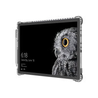 Incipio Octane Pure - Back cover for tablet - Flex2O polymer, thermoplastic polyurethane (TPU) - clear - for Microsoft Surface Pro (Mid 2017)