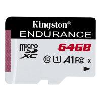 Kingston High Endurance - Flash memory card - 64 GB - A1 / UHS-I U1 / Class10 - microSDXC UHS-I